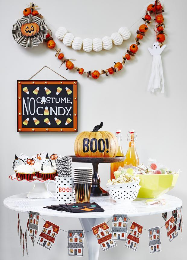 Halloween decor from TK Maxx