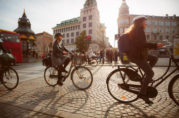 Pedal power: three in five Copenhagen residents cycle to work