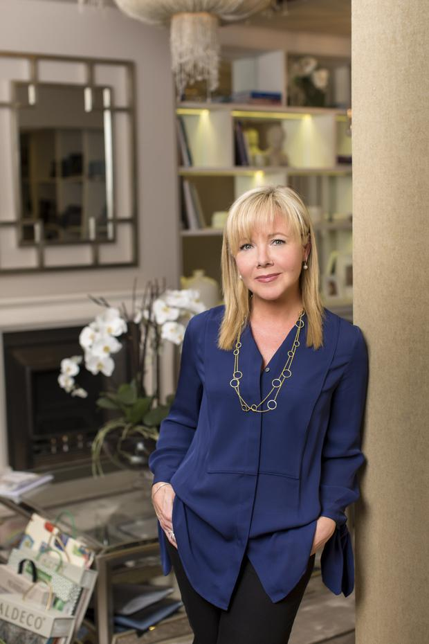 Interior designer Arlene McIntyre. Photo: Kip Carroll