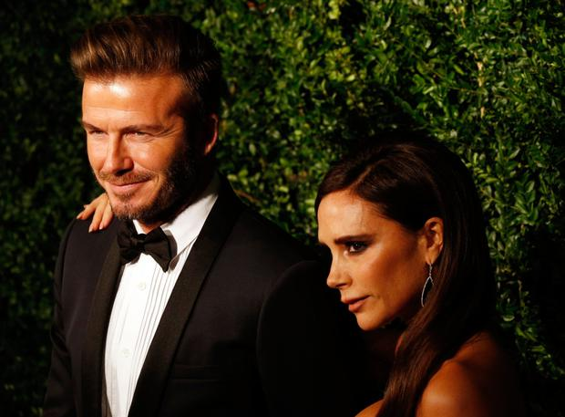 "David Beckham reportedly upset Victoria by describing their marriage as ""hard work"". Photo: PA"