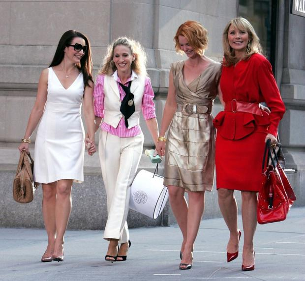 Carrie Bradshaw and her girlfriends spent money in Sex And The City like there was no tomorrow