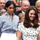 Meghan and Kate together at Wimbledon in 2018