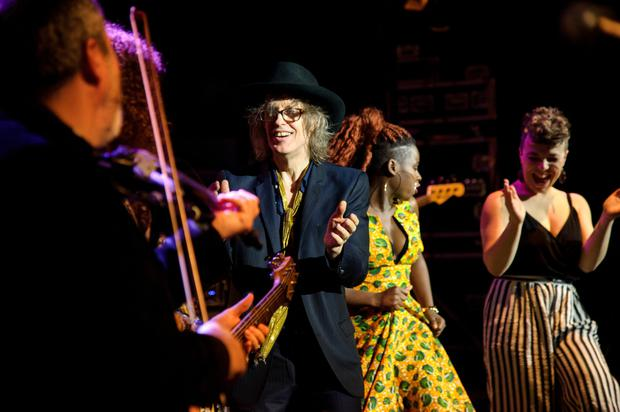 Mike Scott and his band The Waterboys are clearly in a golden moment