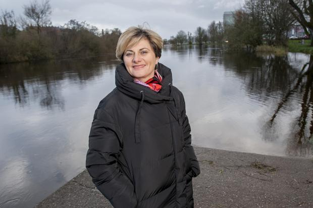 Veronica Keneally, who lives with cancer pictured, in Cork city.Pic Daragh Mc Sweeney/Provision