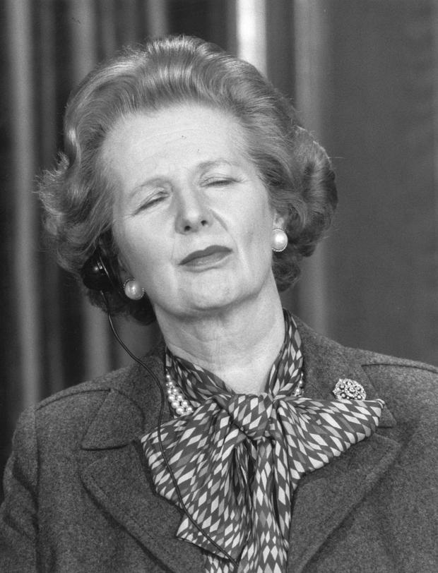 Margaret Thatcher used to grab power naps