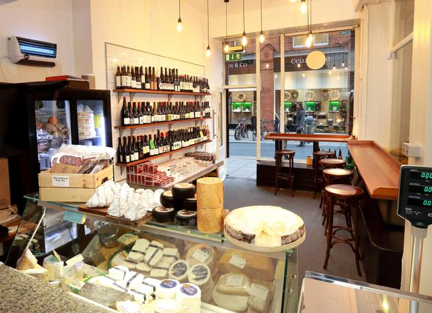 The big cheese: Loose Canon specialises in interesting wines and gourmet toasties