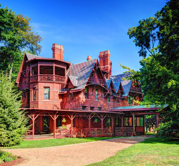 Literary buffs will get a kick out of visiting Mark Twain's family home in Hartford