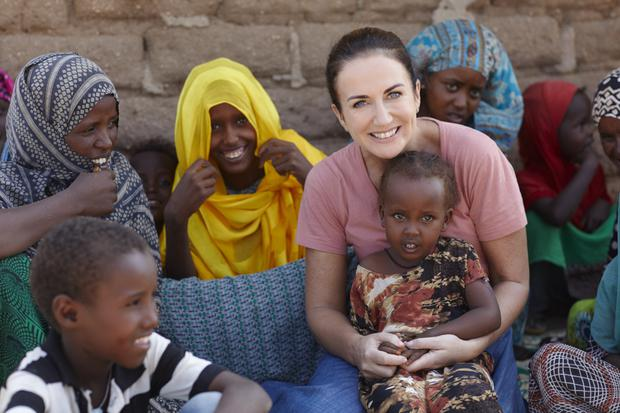 Lorraine Keane, pictured on her recent visit to the Sitti zone in Ethiopia, said she knew she had to make a long-term commitment to help. Photo: Simon Burch