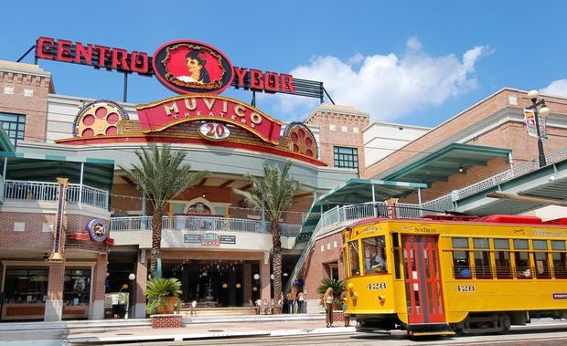 You'll get from downtown Tampa to Ybor City in just 10 minutes on the picturesque streetcars