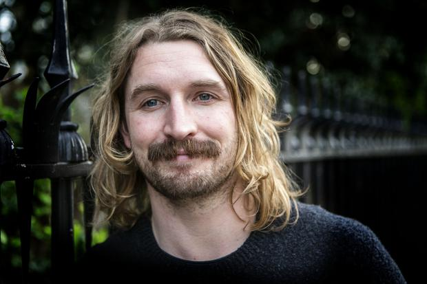Hair we go: Jack O'Connor admits keeping a moustache takes a lot more maintenance than a beard. Photo: Kyran O'Brien