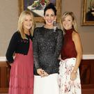 Fiona Wall, Shelly Corkery and Susan McNamara pictured at the Brown Thomas Spring Summer 2019 launch at The Merrion Hotel. Photo: Kieran Harnett