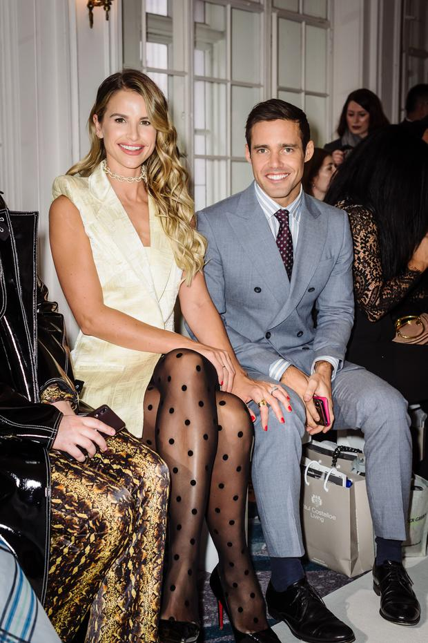 Vogue Williams and her husband, Spencer Matthews