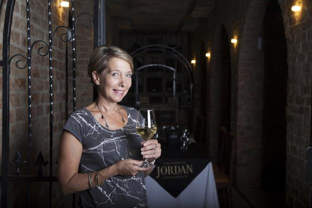 Grape expectations: Wine maker Kathy Jordan runs a Women in Wine programme