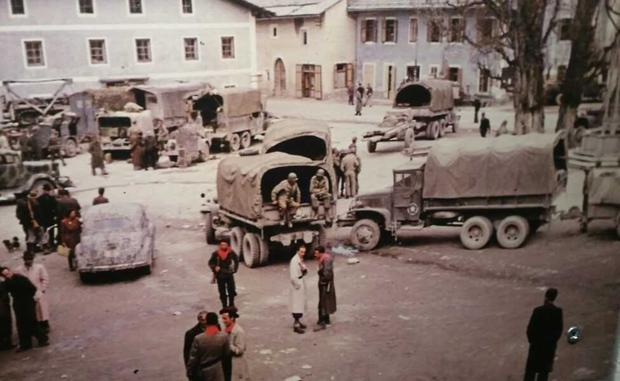 Last stand: US troops and partisans in Niederdorf