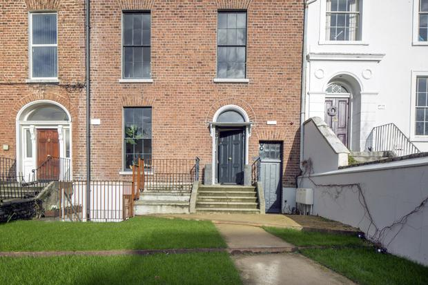 The three-storey-over-basement house renovated by Esther Gerrard and Ed Coveney dates from the early 1800s. It had been used as a guest house since the 1920s, then lay empty from 2007 until the couple bought it in 2013