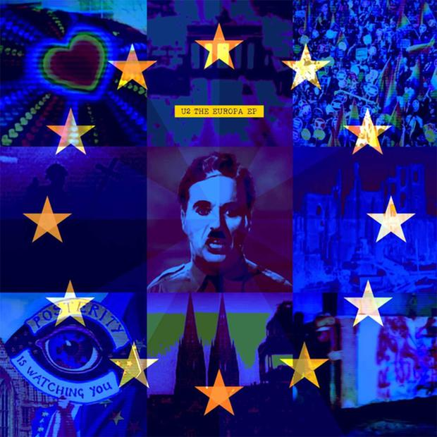 The cover of the Europa EP