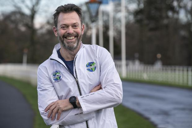 Runner Jonathan Cairns from Rathgar took up running to lose weight and feel better about himself, and he hasn't looked back. Photo: Kyran O'Brien