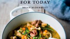 Traditional Irish Cooking for Today by Brian McDermott, published by The O'Brien Press