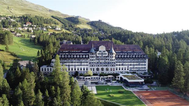Suvretta House in St Moritz: how the other half lives