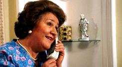 Hyacinth Bucket was very fond of plumping cushions
