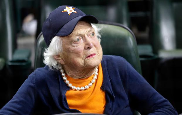 Haunted by tragedy: Barbara Bush lost a child to leukaemia and also suffered a miscarriage