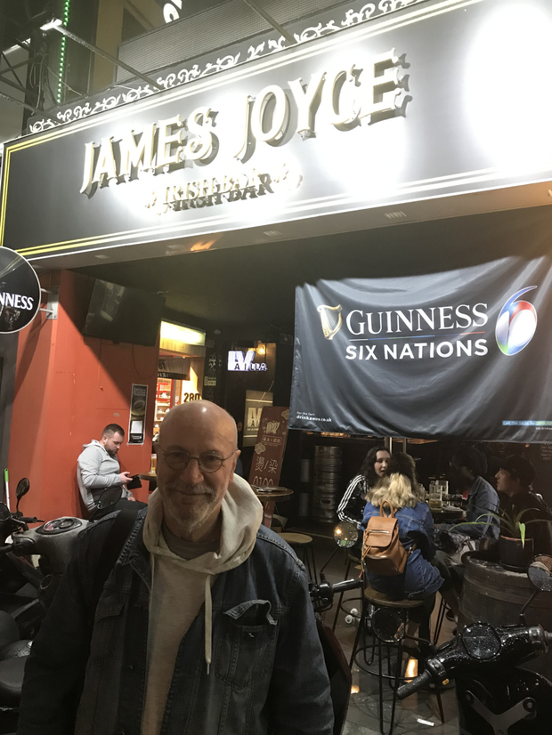 After much painstaking research, David Blake Knox found the top Irish bar in Taiwan