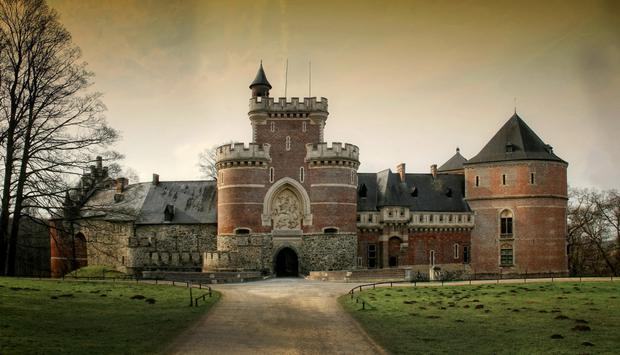 Gaasbeek Castle in Flanders, near where Bruegel lived and worked