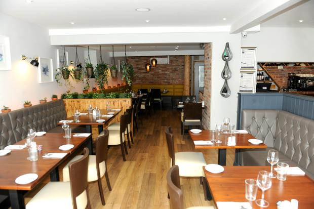 On cloud nine: The menu shines with inventive, flavoursome dishes