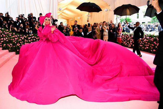 Lady Gaga attends The 2019 Met Gala Celebrating Camp. Photo: Getty