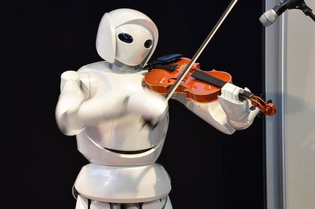 Music to our ears: While humanoid robots are impressive, they are unlikely to take over