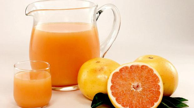 US researchers compared, for the first time, 100% fruit juices with sugar-sweetened beverages such as cola and lemonade (Florida Department of Citrus/PA)