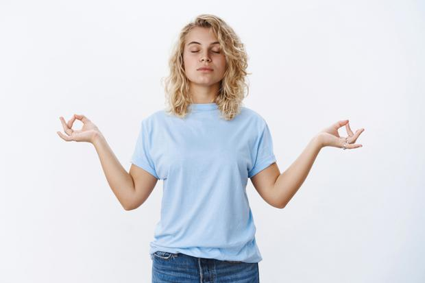 Meditation and breathing properly can reduce stress and aid revision