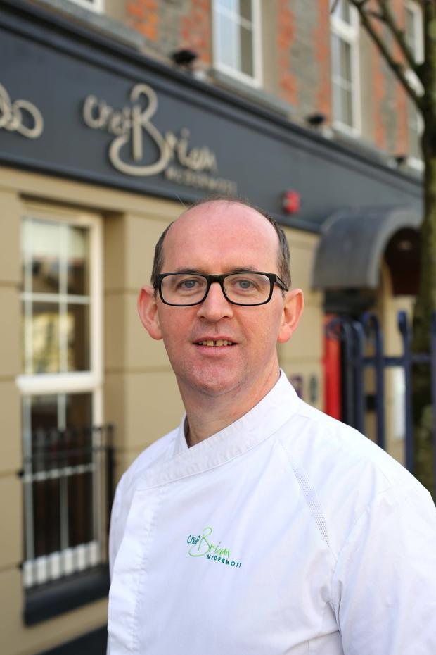 Brian McDermott from the Foyle Hotel. Photo: Lorcan Doherty