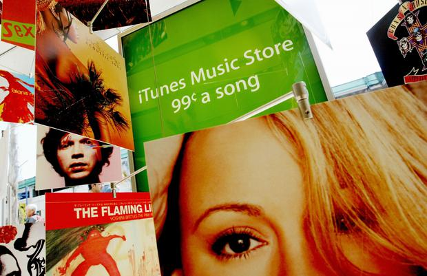 Back in the day: With iTunes, consumers could buy individual songs. Photo: Getty