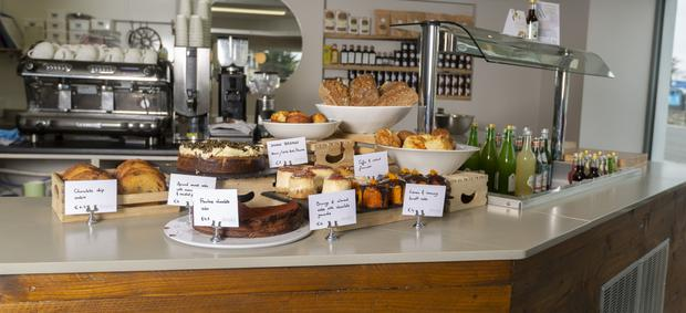 Sweet treats: Dooks Fine Foods offers a tempting selection of baked goods