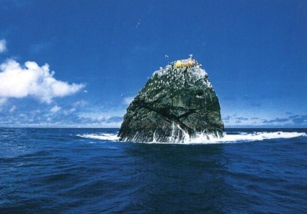 Rockall is like no other rock, being so far from land and so small yet permanently above high tide