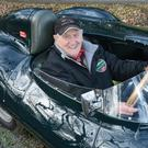 Norman Dewis in a D-type