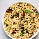 Simple pasta salad by Indy Power