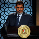 Sworn in: Egypt's new president-elect, Muslim Brotherhood leader Mohamed Morsi in 2012. Photo: Getty Images