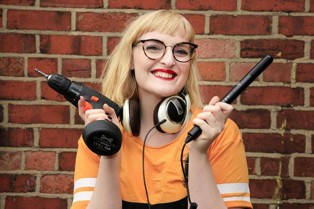 Sophie White started her first podcast in January last year. Photo: Gerry Mooney
