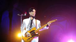 Prince performing in 2009 at the Grand Palais in Paris