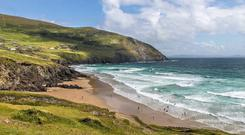 The beach at Slea Head, just up the coast from Dingle