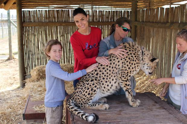 The cheetah sanctuary where we were educated about these beautiful animals and the practices in place to help save them