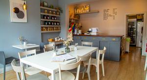 Little wonder: This small café delivers a flavoursome, punchy menu