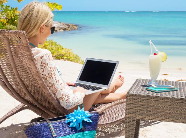 Checking your emails on holiday is a sign you have workplace separation anxiety
