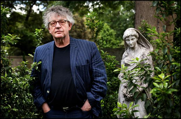 Paul Muldoon photographed by Steve Humphries