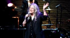 The influential Patti Smith