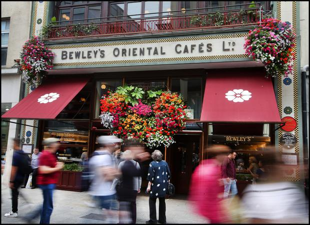Something old, something new: Bewley's Grafton Street café underwent a substantial renovation in 2017