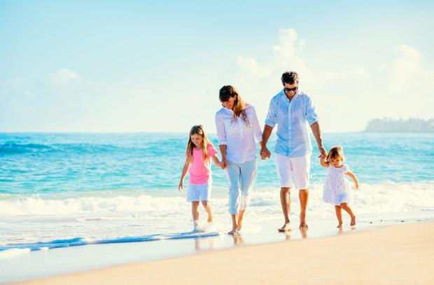 'My friend is not alone in feeling the strain of the annual family break. Hilariously, one poll of 1,000 British workers found even the prospect of an upcoming vacation made 73pc of respondents anxious' (stock photo)