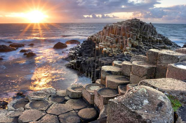 Instagram pictures of one person at the Giant's Causeway are sometimes an inaccurate portrayal of the attraction